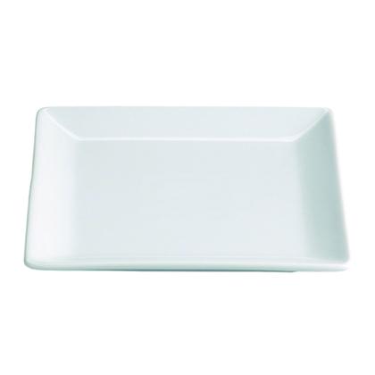 Plato cuadrado for Platos cuadrados de porcelana